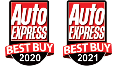 AutoExpress Best Buy 2021 and 2020 badge