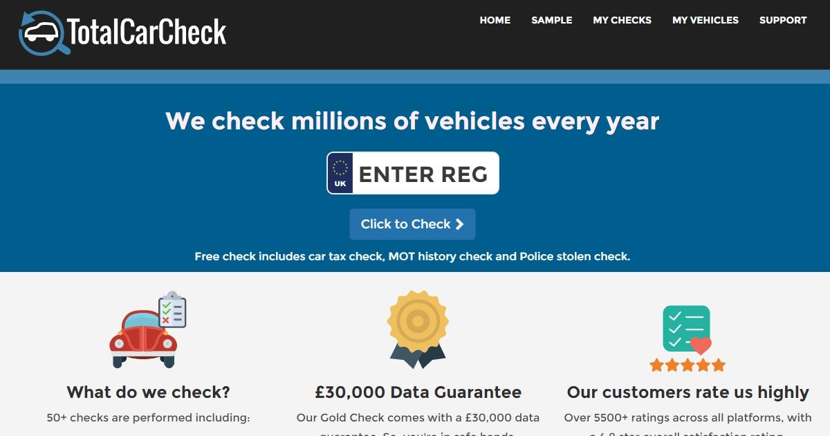 Total Car Check - Total Car Check | Free Car Check